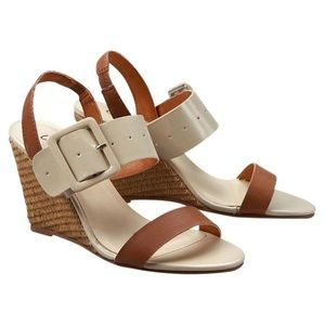 Coconuts by Matisse Natural Caine Buckle Wedge